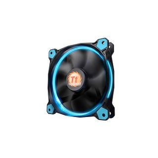 Thermaltake Riing 12 Series High Static Pressure 120Mm Circular Led Ring Case/Radiator Fan With Anti-Vibration Mounting