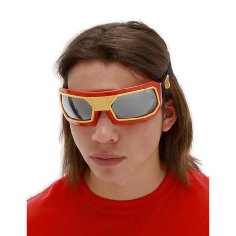 Iron Man Costume Goggles Adult - Red