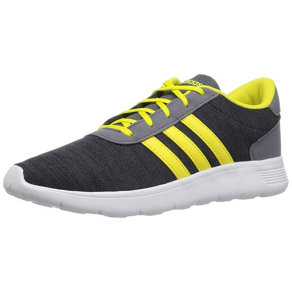 newest dc102 732b2 Shop Adidas Boys Lite Racer K Sneaker, Kids, Carbon Shovel Onix, 1 M Us - 1  M US - Free Shipping Today - Overstock - 27366563