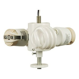 Craftmade F382-NRG Functional Energy Star Two Light Replacement LKE Fitter from the Universal Fitter Collection