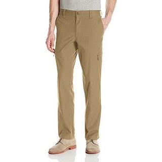 Dockers Mens The Broken In Utility Cargo Straight Fit Pant Stretch, British Khaki