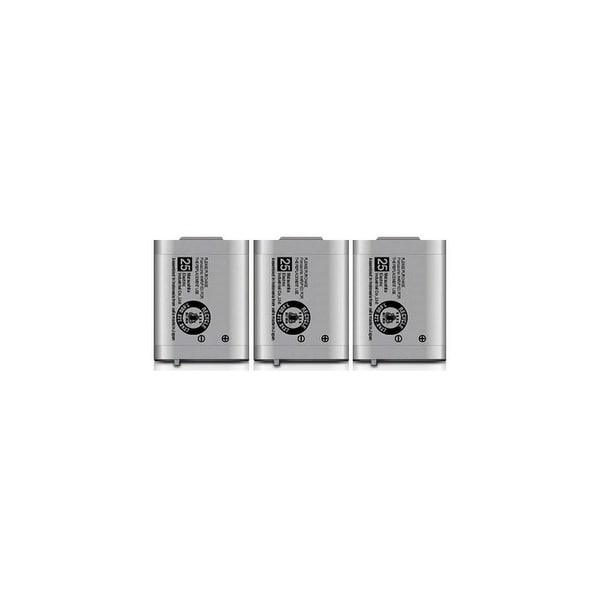 Replacement Battery For Panasonic BTS KX-TD7896 / KX-TD7896 Phone Models (3 Pack)