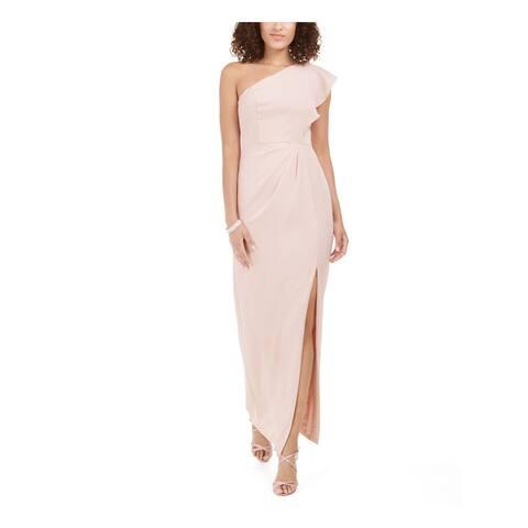 ADRIANNA PAPELL Pink Sleeveless Maxi Dress 4