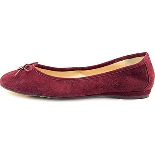 Vince Camuto Womens RIA Leather Closed Toe Ballet Flats