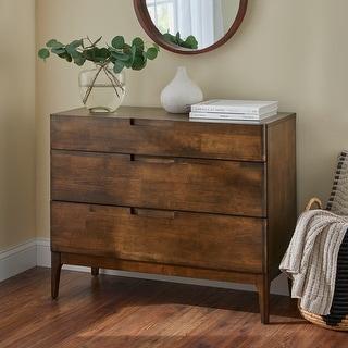 Link to Lifestorey Lorraine Mid-Century Modern 3-Drawer Dresser Similar Items in Bedroom Furniture