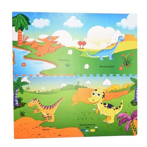 WonderPlay 4PCS EVA Mat Little Kid 4 - 6 years - (Colors May Vary)