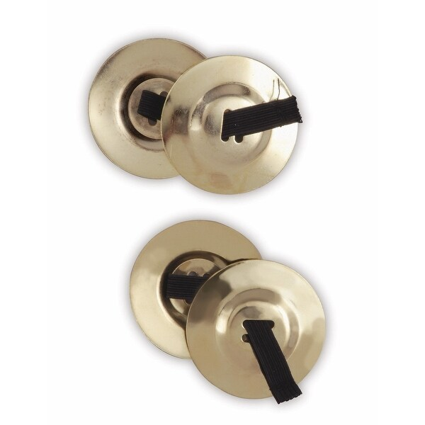 Costume Finger Cymbals - Gold