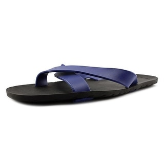 Call It Spring Yigueal Men Open Toe Synthetic Blue Slides Sandal