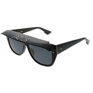 Dior  CD DiorClub2 807 IR Womens Black Frame Grey Lens Sunglasses