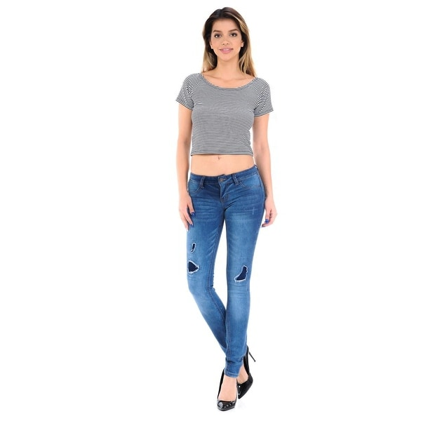 1fe9b2e5c51 Shop M.Michel Women s Jeans Colombian Design