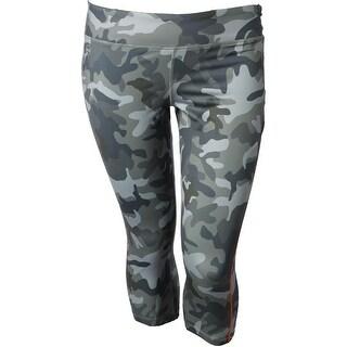 Lauren Ralph Lauren Womens Athletic Pants Camouflage Capri
