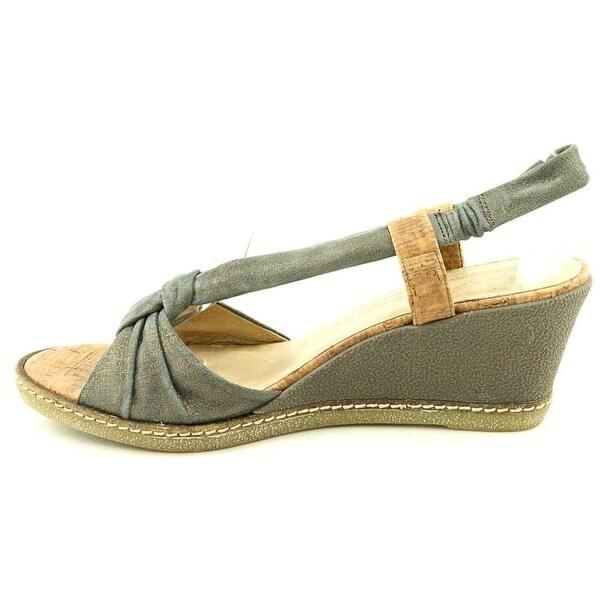 Donald J Pliner Womens Pola-60CF Open Toe Casual Platform Sandals