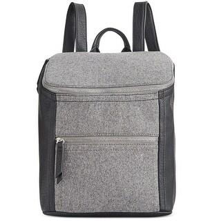 Danielle Nicole Womens Brigit Backpack Mixed Media Adjustable