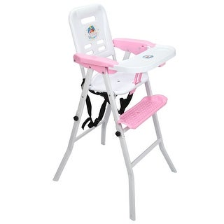 Costway Baby High Chair Detachable Rocking Infant Toddler Feeding Booster Safety Pink
