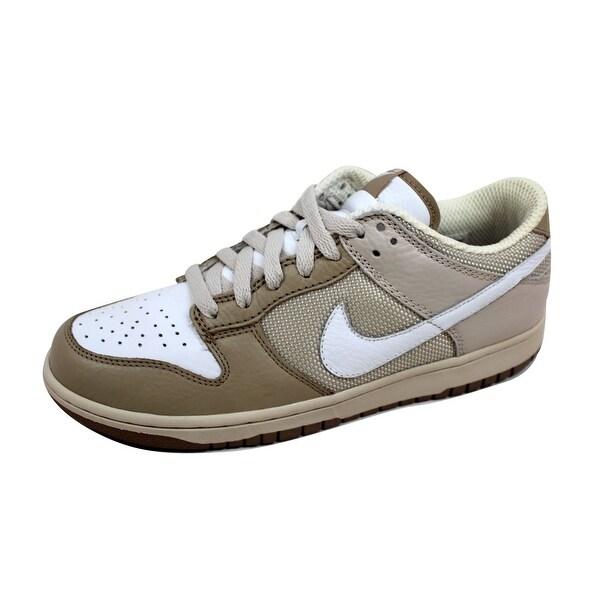 Nike Men's Dunk Low CL Birch/White-Tweed 304714-211 Size 9