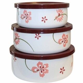 Reston Lloyd 04238 Pretty Pink - 6 Piece - Small Bowl Set