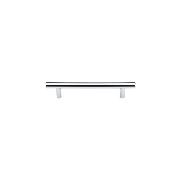 """Top Knobs M1848 Hopewell 5"""" (128 mm) Center to Center Bar Cabinet Pull from the Bar Pulls Series - Polished chrome - n/a"""