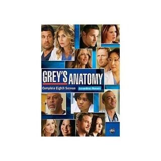 GREYS ANATOMY-8TH SEASON (DVD/6 DISC/WS/SP-FR-SUB)