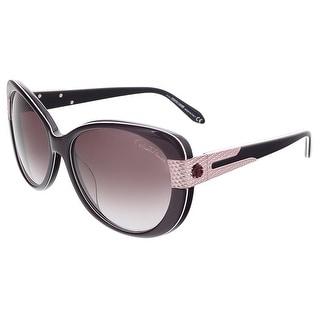 Roberto Cavalli RC745T/S 83Z FESDU Purple Butterfly sunglasses