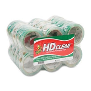 Duck Brand Packing Tape, 1.88x54.7Yds., 24-PK, Clear