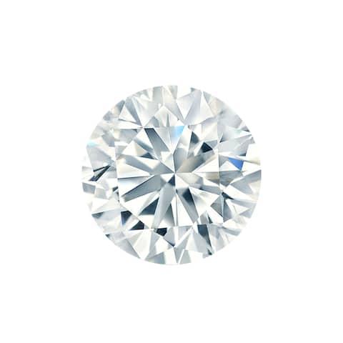 Auriya 1/2ct EGL Certified Round Diamond Loose Stone (D SI2)