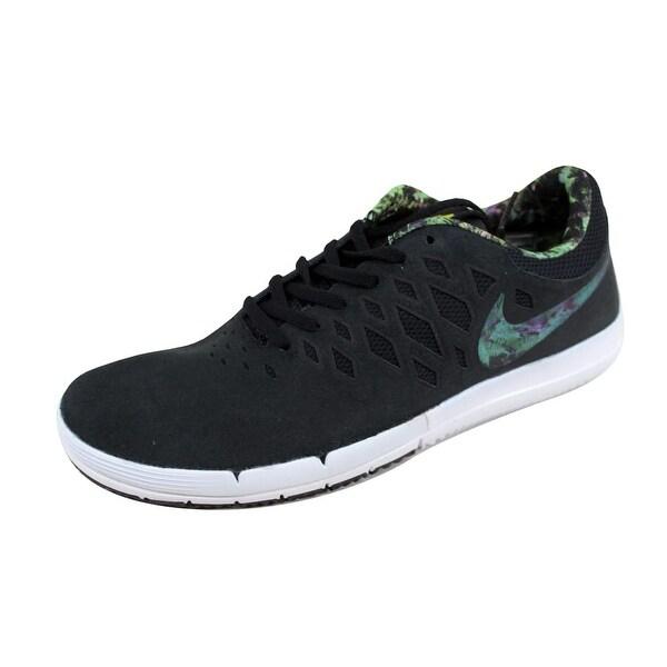 Nike Men's Free SB Black/Gorge Green-Black-White 704936-030