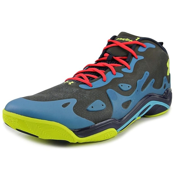 Under Armour Micro G Spawn Low 2 Men Synthetic Multi Color Basketball Shoe