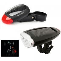 CYCLELITE Solar Bike Front & Rear Safety Light Set