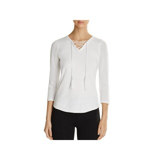 T Tahari Womens Sweater Mesh 3/4 Sleeves (3 options available)