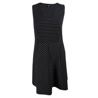 Spence Women's Sleeveless Striped Dress - 18W