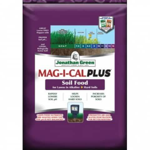 Jonathan Green 11356 MAG-I-CAL Plus for Lawns in Alkaline + Hard Soil, 5000 SqFt