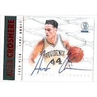 Austin Croshere Autographed Basketball Card Providence