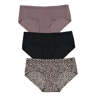 Maidenform Comfort Devotion Sweet Nothings Hipster, 3-Pack - Color - Spicy Bronze Black/Sexy Bronze Animal - Size - M