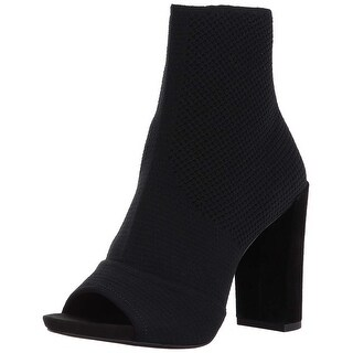 Kenneth Cole New York Womens Dahvi Open Toe Ankle Fashion Boots