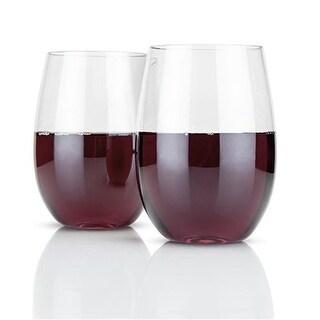 True 3039 Flexi Stemless Wine Glasses, Set of 2