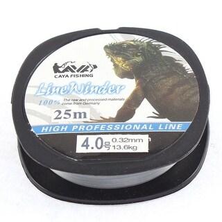 Unique Bargains 27Yds/25M 0.32mm 30 lbs Nylon Spool Fishing Line