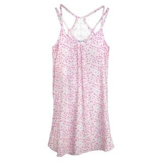 Elegant Emily Women's Plus Size Lace Back Night Gown
