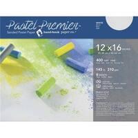 Pastel Premier Sanded Pastel Paper, White, 12 x 16 in.&#44