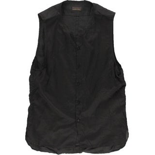 Zara Mens Cotton Hi-Low Casual Vest