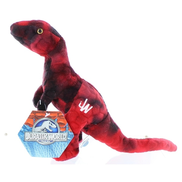 "Jurassic World 7"" Plush Red Raptor"