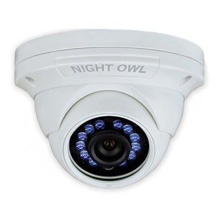 Night Owl Add-On HD Wired Audio-Enabled Security Dome Camera FHD Wired Audio-Enabled Security Dome Camera