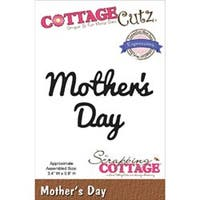 "Mother's Day 3.4""X.8"" - Cottagecutz Expressions Die"