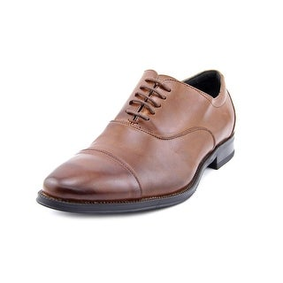 Stacy Adams Kordell Men Cap Toe Leather Brown Oxford