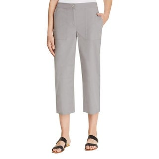 Eileen Fisher Womens Lounge Pants Cropped Capri