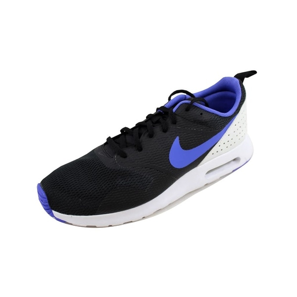 hot sale online 64be3 c6dae Nike Men  x27 s Air Max Tavas Black Persian Violet-White 705149