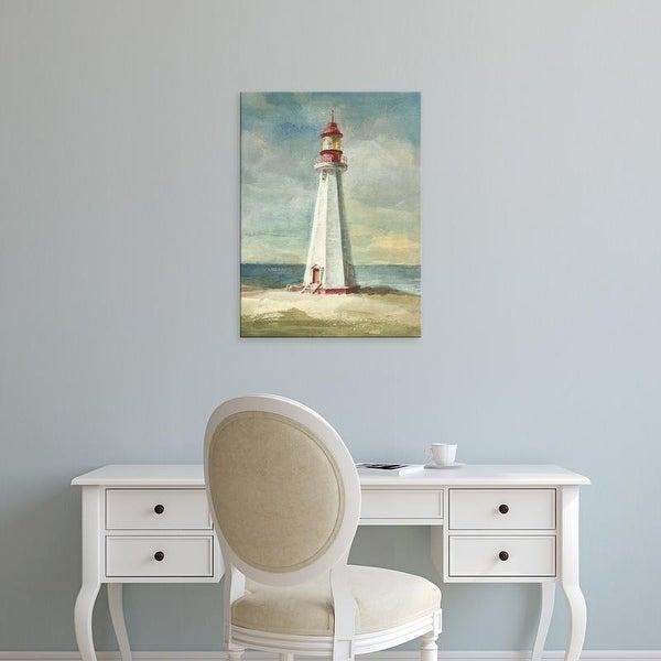 Easy Art Prints Danhui Nai's 'Lighthouse III' Premium Canvas Art