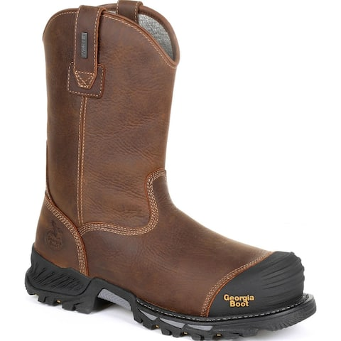 Georgia Boot Rumbler Composite Toe Insulated Waterproof Work Boot