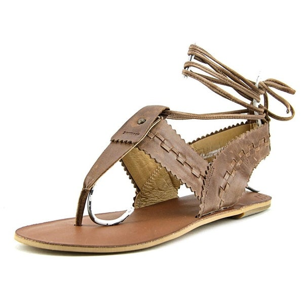 Latigo Orion Open Toe Leather Slides Sandal