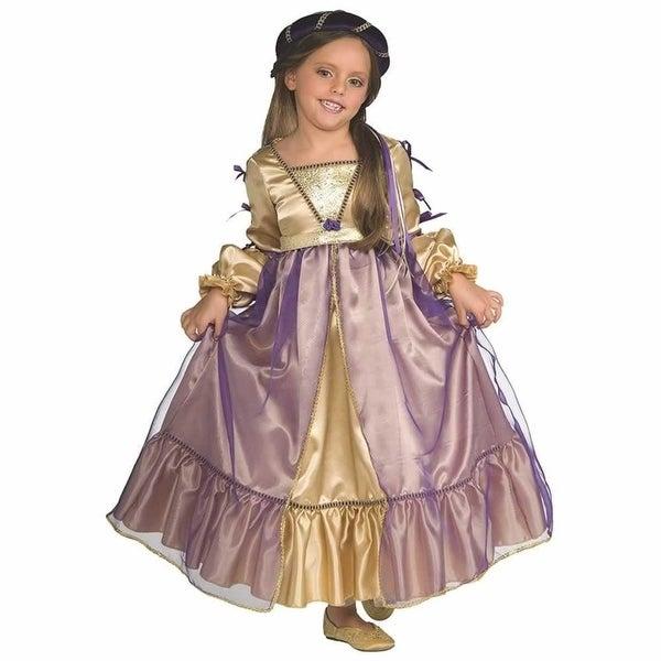 Little Princess Juliet Girls size M 8/10 Renaissance Dress Costume Rubie's