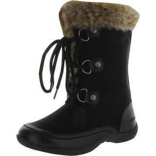 Nine West Girls Daphne Winter Fashion Boots - White